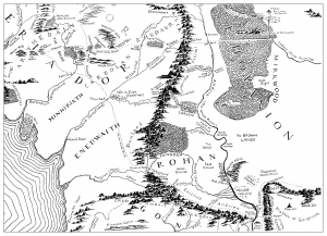 Map of Tolkien's Middle-earth