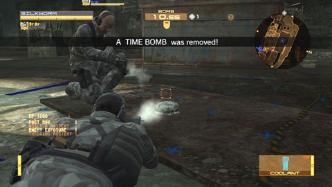 Metal Gear Solid Bomb Mission mode on PlayStation 3
