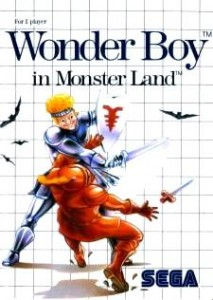Wonder Boy in Monster Land Sega Master System