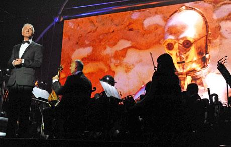 Anthony Daniels in Star Wars in Concert