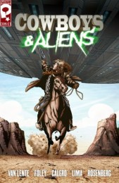Cowboys and Aliens graphic novel cover