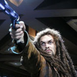 Momoa as Ronon Dex in 'Stargate Atlantis'