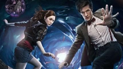 Doctor Who Matt Smith Karen Gillan BBC
