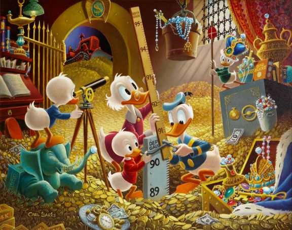 Uncle Scrooge art collection