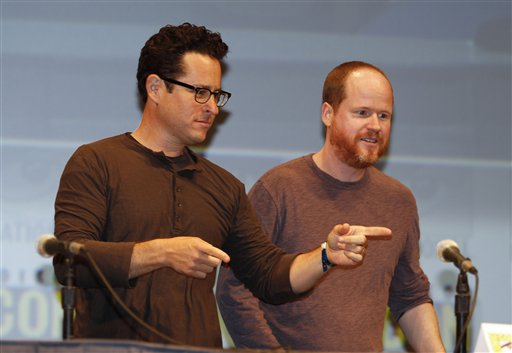 J.J. Abrams and Joss Whedon at Comic-Con