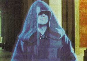 Darth Sidious hologram