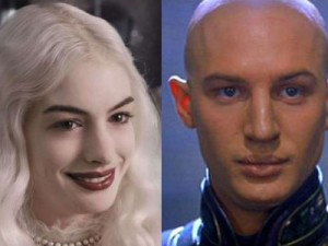 Anne Hathaway and Tom Hardy