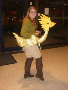 Chocobo costume