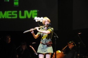 Laura Intravia, aka 'Flute Link' (Video Games Live)