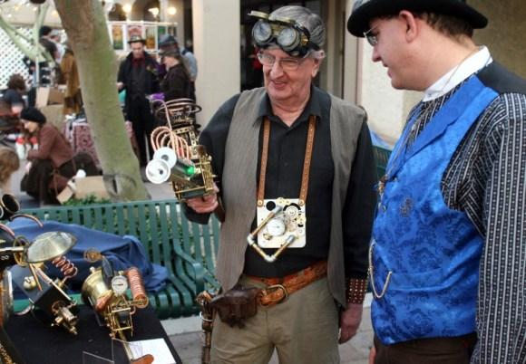 Steampunk Street (Tim Hacker, East Valley Tribune)