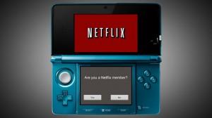 Netflix on Nintendo 3DS