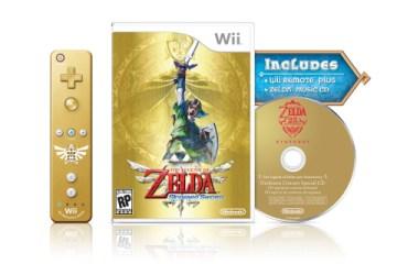 Legend of Zelda Skyward Sword bundle for Nintendo Wii
