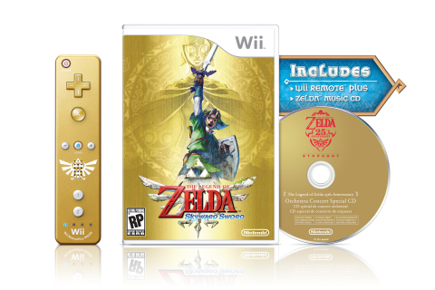 Legend of Zelda Skyward Sword bundle (Nintendo)