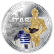 Star Wars New Zealand Mint coin