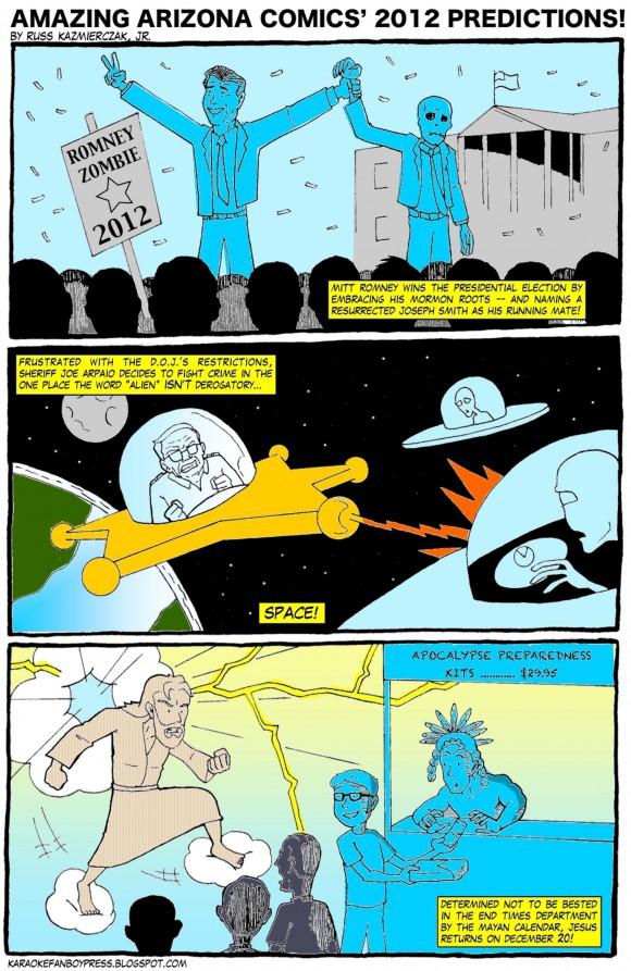 Amazing Arizona Comics' 2012 predictions