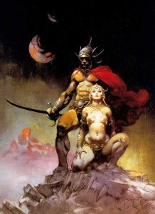 Frank Frazetta - Fighting Man of Mars