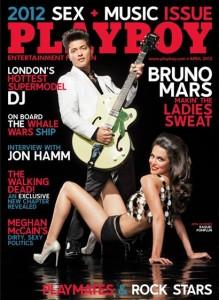April 2012 Playboy