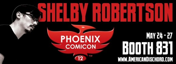 Shelby Robertson at Phoenix Comicon
