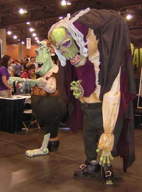 Paranorman characters at 2012 Phoenix Comicon