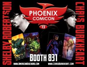 Chris Burkheart at Phoenix Comicon