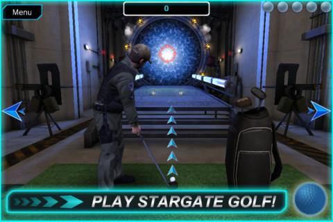 Stargate Command golf screen