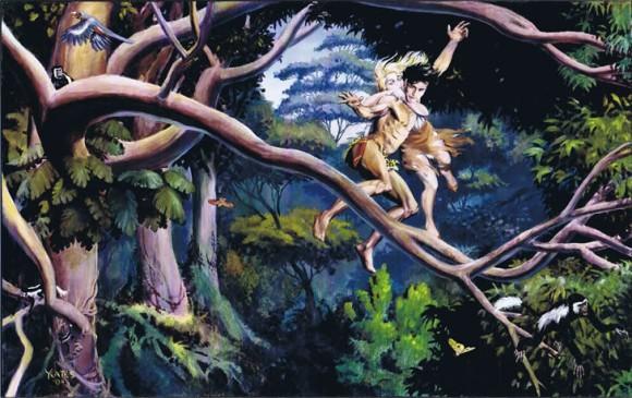 Tarzan & Jane by Thomas Yeates