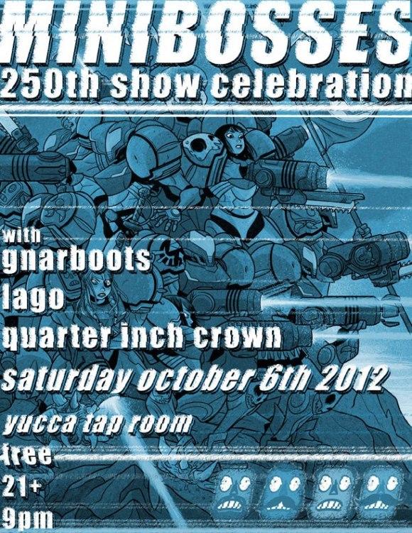 Minibosses 250th show celebration