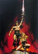 Conan the Barbarian promo image by Renato Casaro