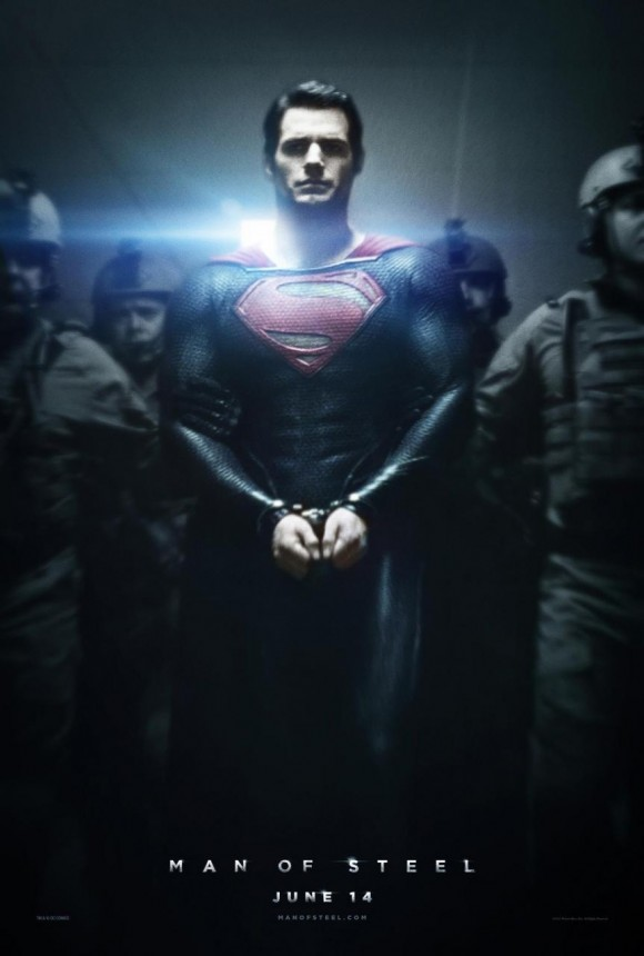 Man of Steel Superman Poster