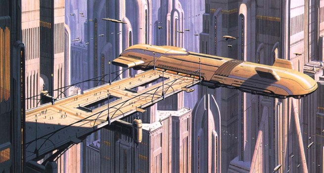 Star Wars conceptual painting