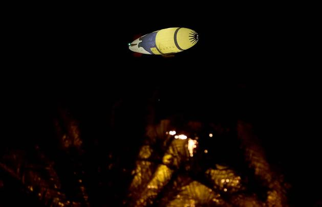 Despicablimp over the East Valley (Photo courtesy of Darryl Webb)