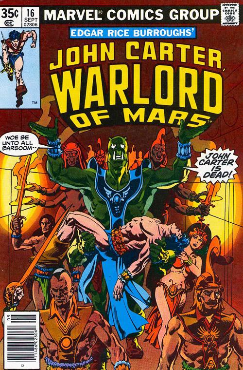 John Carter, Warlord of Mars #16