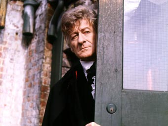 See Jon Pertwee as the Third Doctor in Doctor Who on Twitch