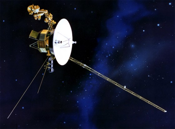 The spacecraft Voyager 1 appears to have left the heliosphere, according to a new study. (Credit: NASA)