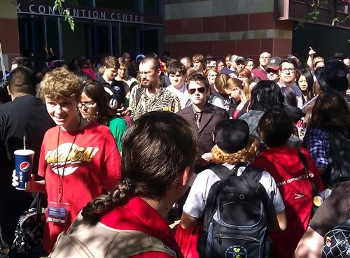 Comicon Evacuation