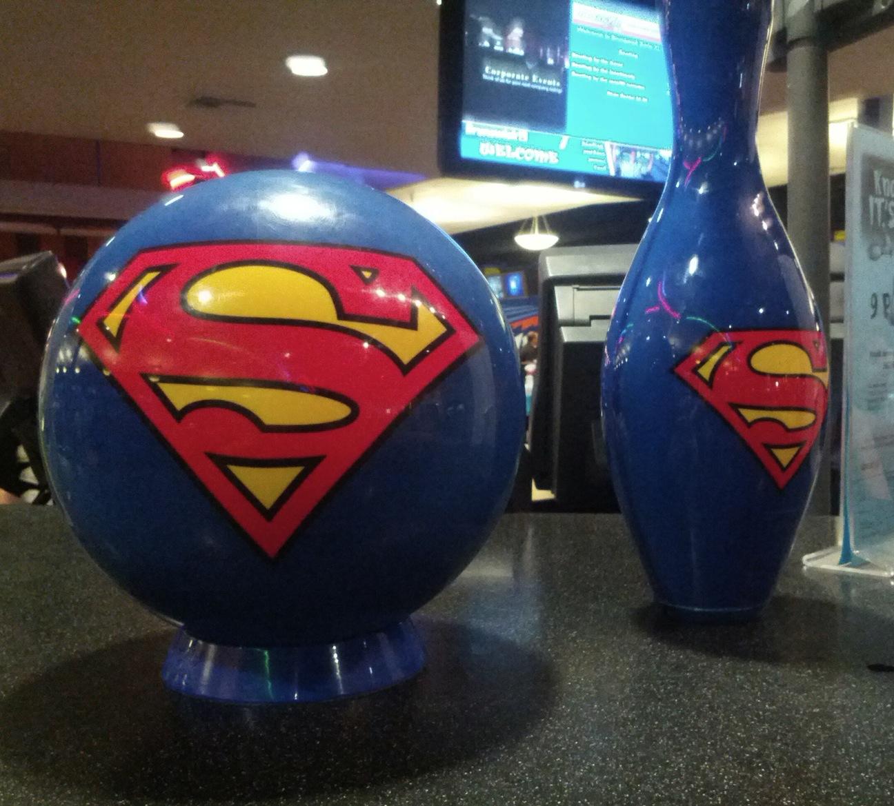Fun Find Fridays: Superhero Themed Bowling Club