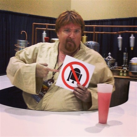 No Droids allowed at the Mos Eisley Bar