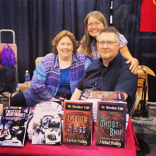 Local Author Michael Bradley, Booth #1629