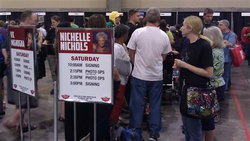 Waiting for Nichelle Nichols