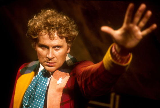 Colin Baker in Doctor Who (BBC)