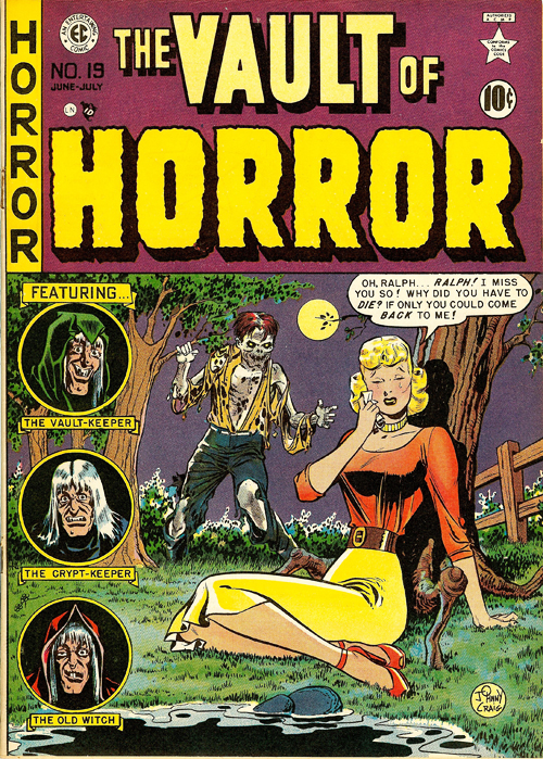 Classic Comic Cover Corner – Vault of Horror #19