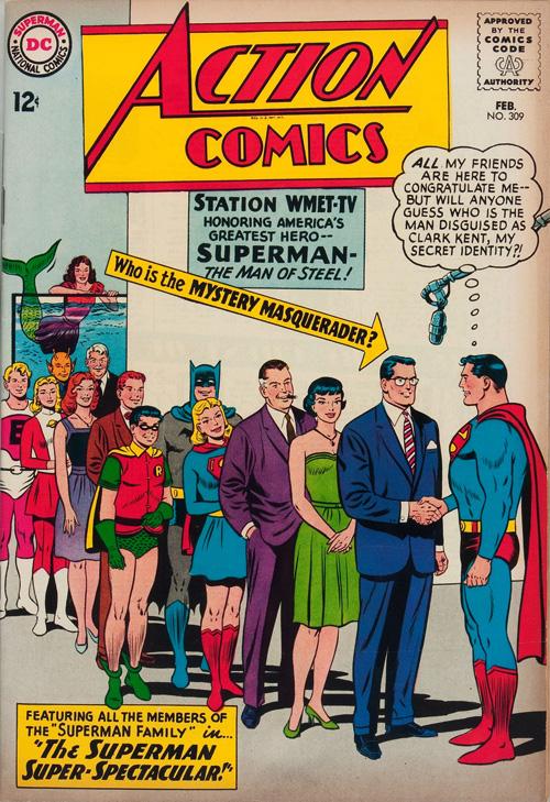 Action Comics #309 - February, 1964