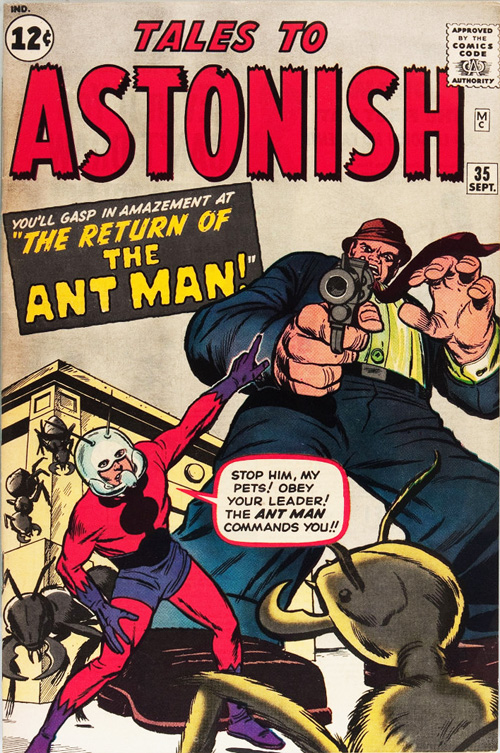 Tales to Astonish #35 - September, 1962