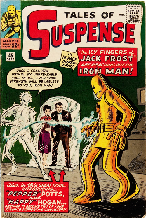 Tales of Suspense #45 - September, 1963