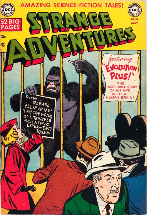Strange Adventures #8 - May, 1951