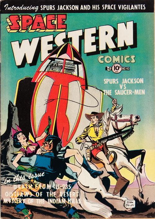 Space Western #40 – September, 1952