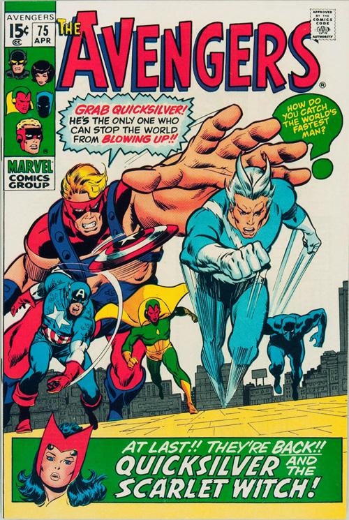 Avengers #75 – April, 1970
