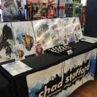 Local artist Chad Stafford had different prints on display.