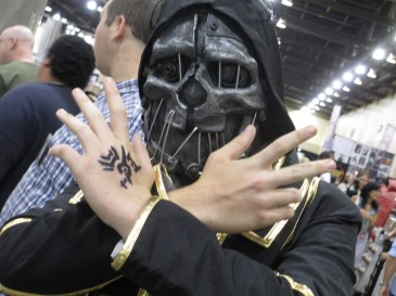 Corvo from Dishonored. (Photo by Justin Franco)