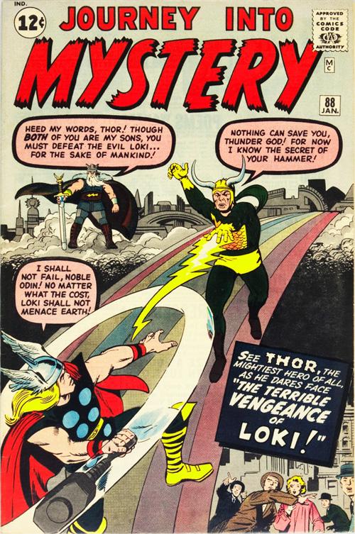 Journey into Mystery #88 – January, 1963